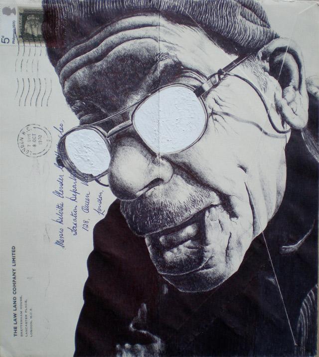 Portrait-Zeichnungen auf Briefumschlägen Mark_Powell_09