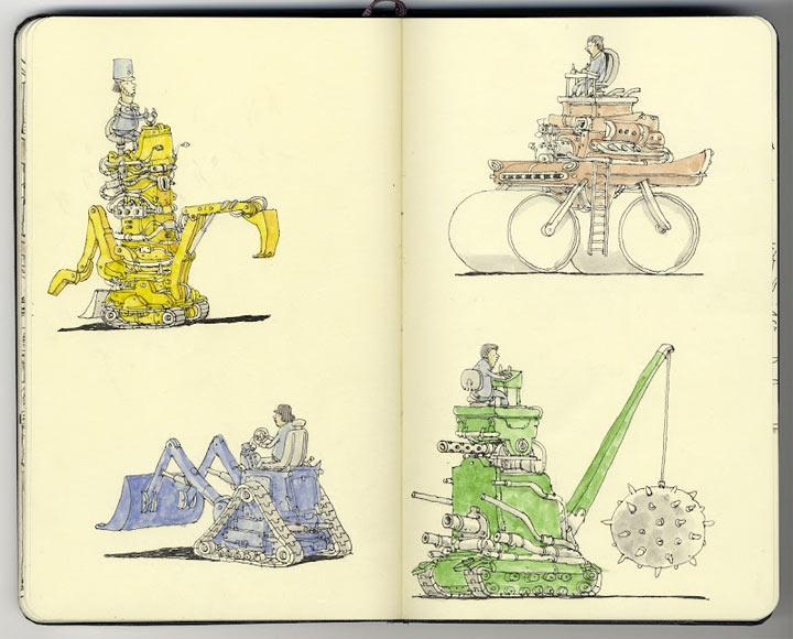 Neue Notizbuchzeichnungen von Mattias Adolfsson Mattias_Adolfsson_2_02