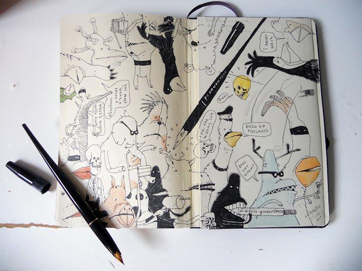 Neue Notizbuchzeichnungen von Mattias Adolfsson Mattias_Adolfsson_2_06