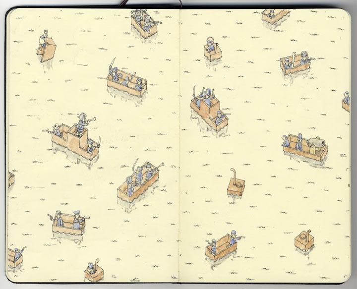 Neue Notizbuchzeichnungen von Mattias Adolfsson Mattias_Adolfsson_2_07