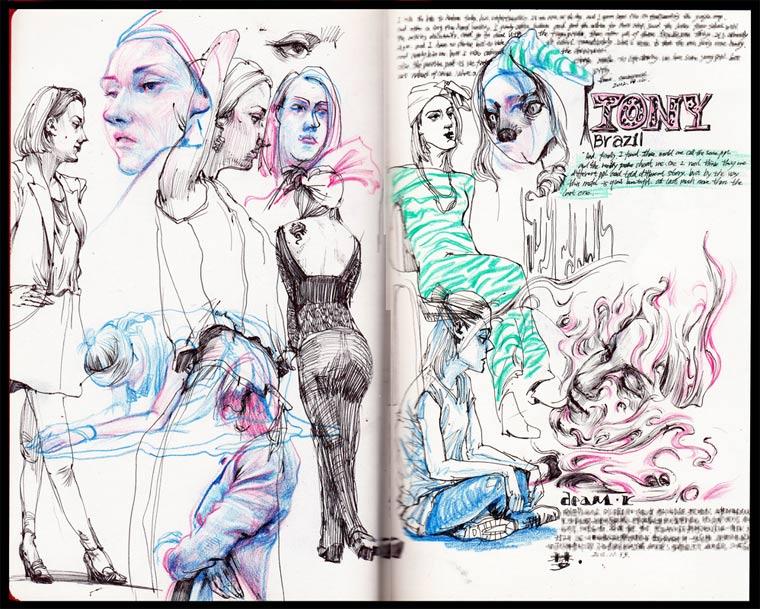 Notizbuchzeichnungen: Reeo Zerkos Reeo_Zerkos_01