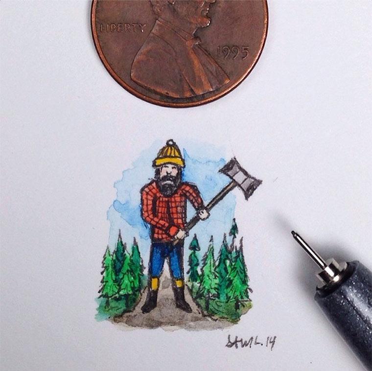 Mini-Zeichnungen von Sam Larson Sam_Larson_03