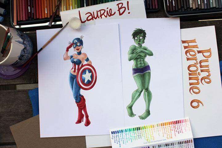 Superheldinnen & Mehr: Pure Heroine Superheldinnen_03