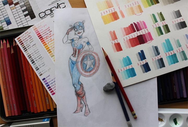 Superheldinnen & Mehr: Pure Heroine Superheldinnen_06
