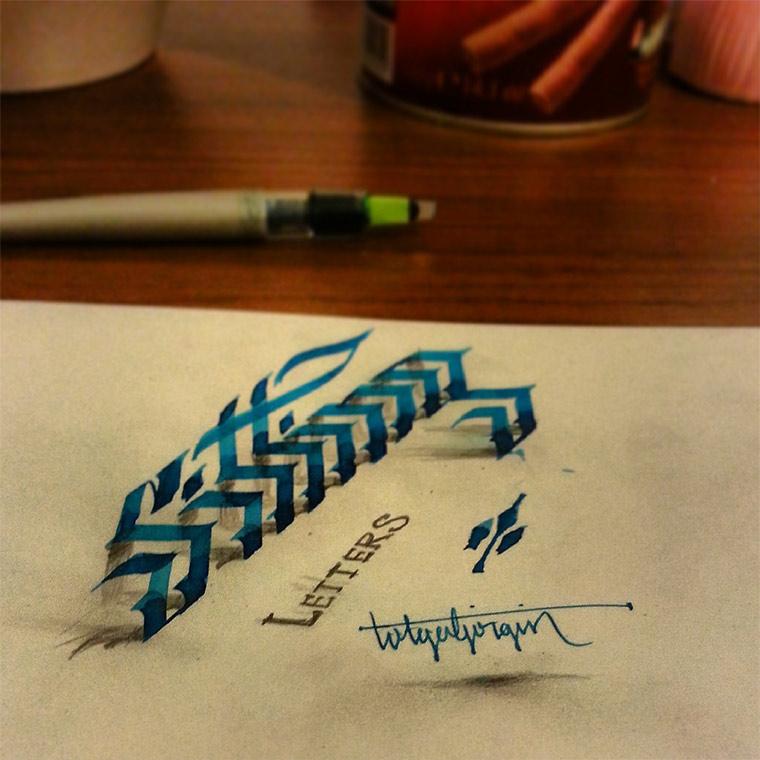 3D-Typografie: Tolga Girgin Tolga_Girgin_02