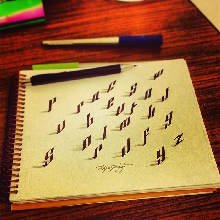 3D-Typografie: Tolga Girgin Tolga_Girgin_04