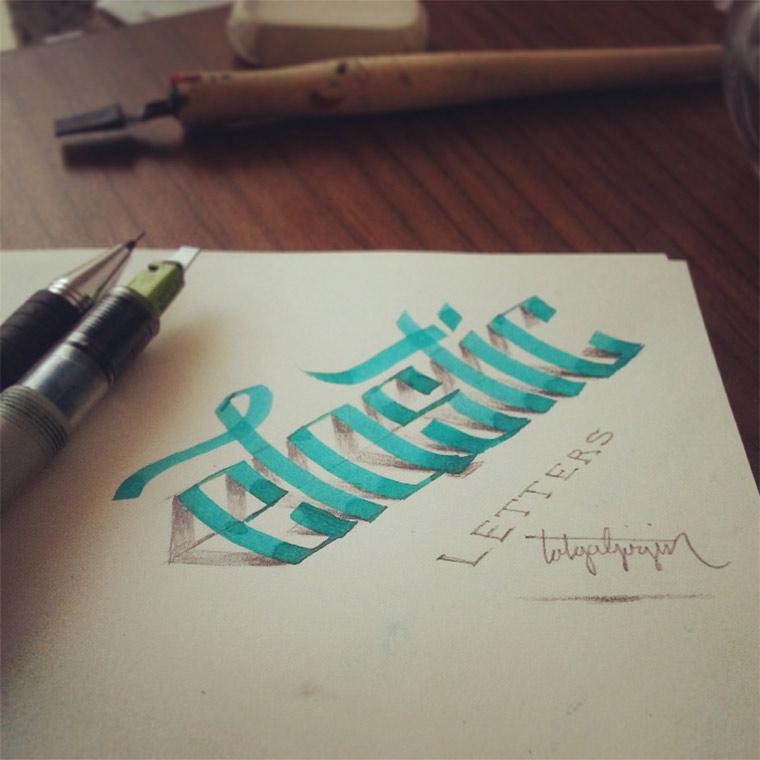3D-Typografie: Tolga Girgin Tolga_Girgin_05