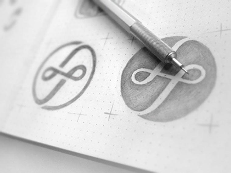 20 gezeichnete Logoskizzen logoskizzen_09
