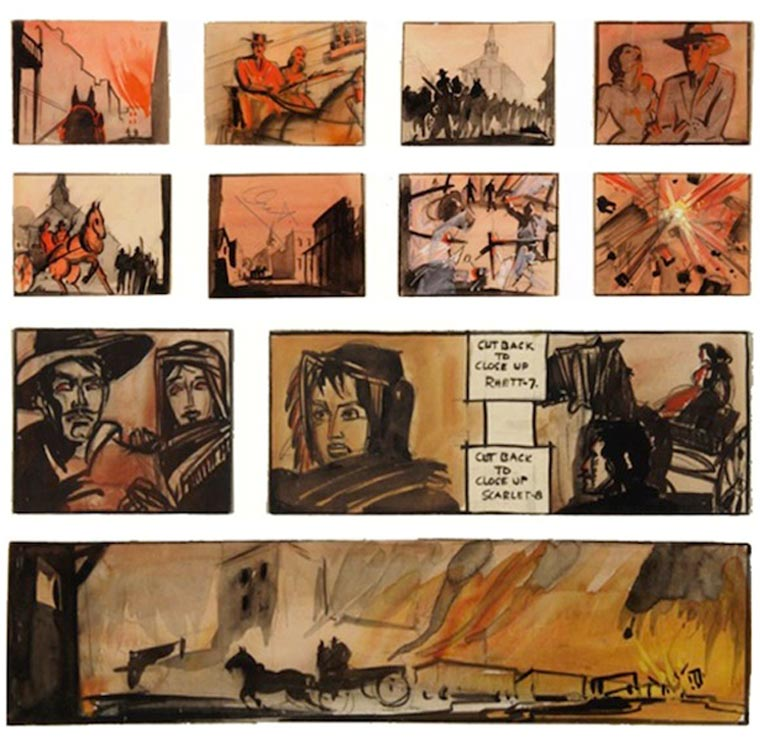 Movie Porn: Original Storyboards von Filmklassikern storyboards_02
