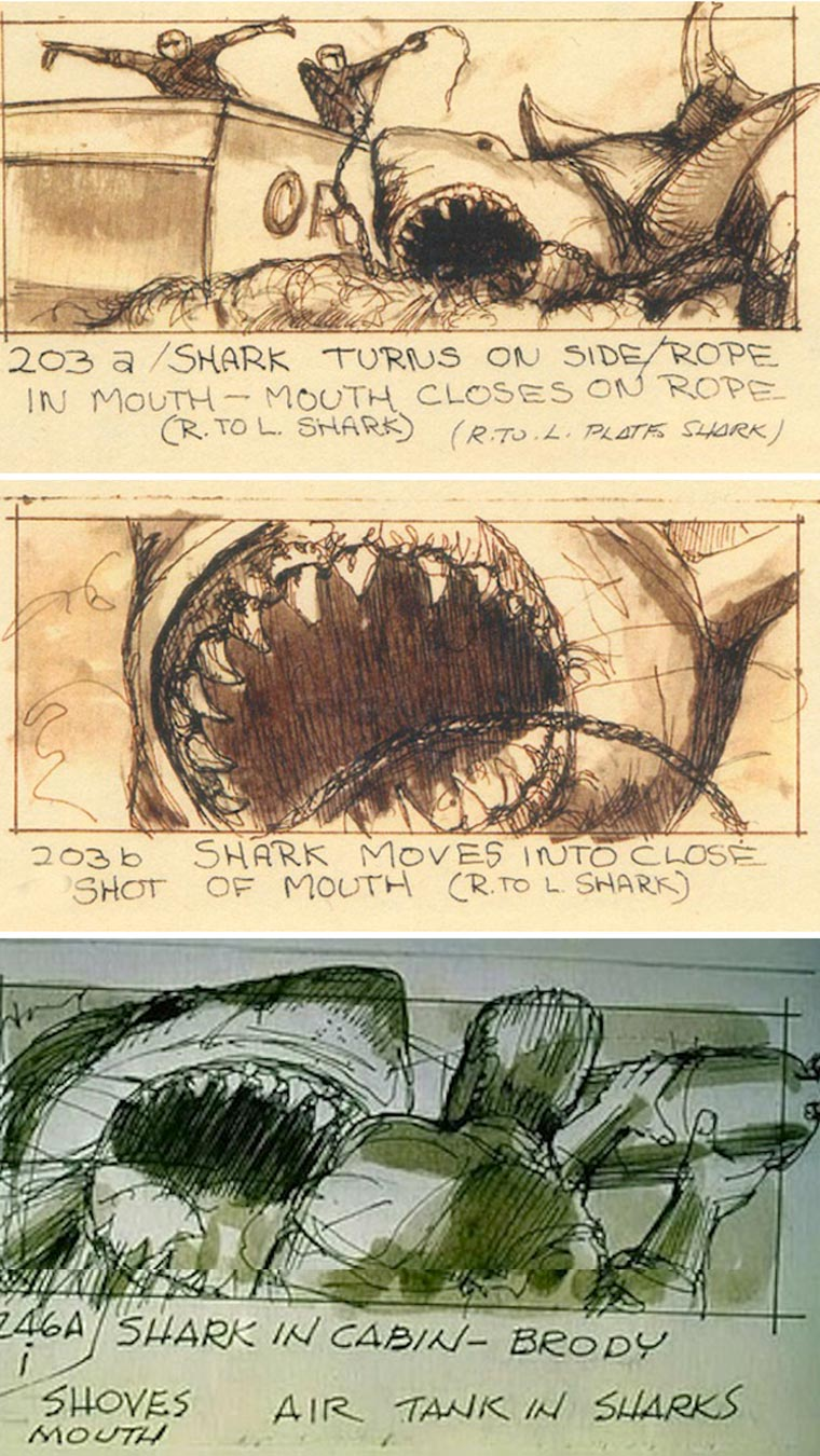 Movie Porn: Original Storyboards von Filmklassikern