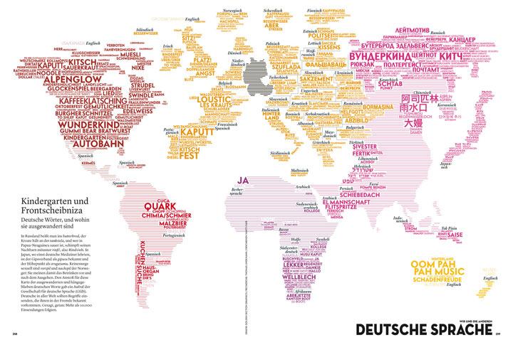 Deutsche Wörter im Ausland