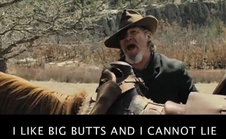 I Like Big Butts von Filmen gesungen
