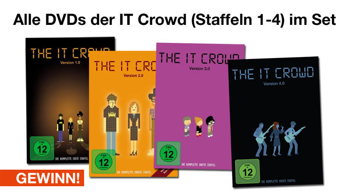The IT Crowd ist besser als The Big Bang Theory! battle_gewinn