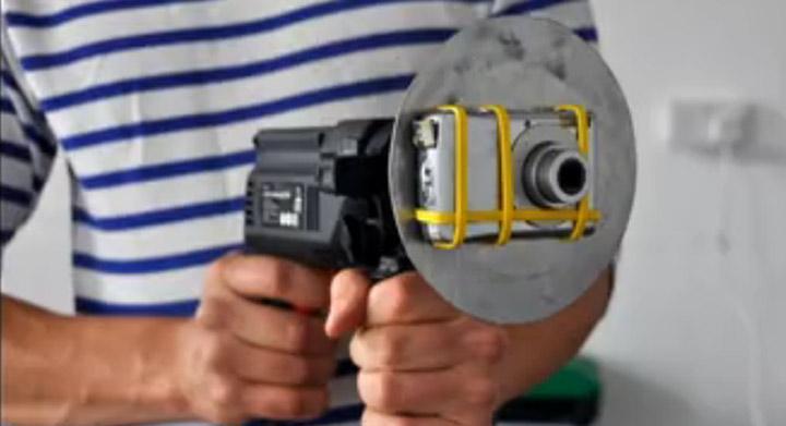 Bohrmaschinenkamera bohrmaschinenkamera
