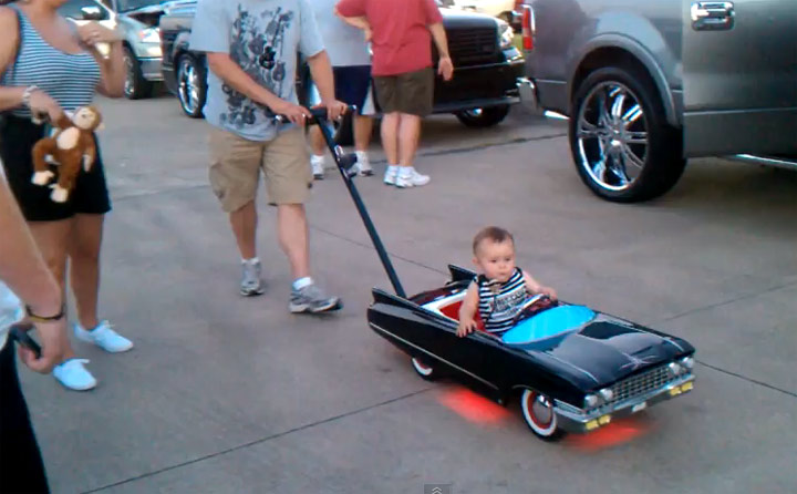 Cool Baby in his Lowrider brady_cool_lowrider
