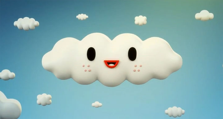 Über das Leben fröhlicher Wolkenfreunde cloudy