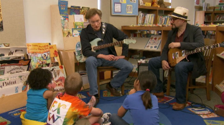 Conan sings the Blues - with kids