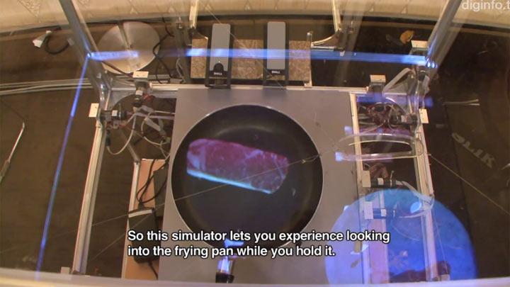 Nichts zu tun? Der virtuelle Pfannesimulator cooking_simulatur