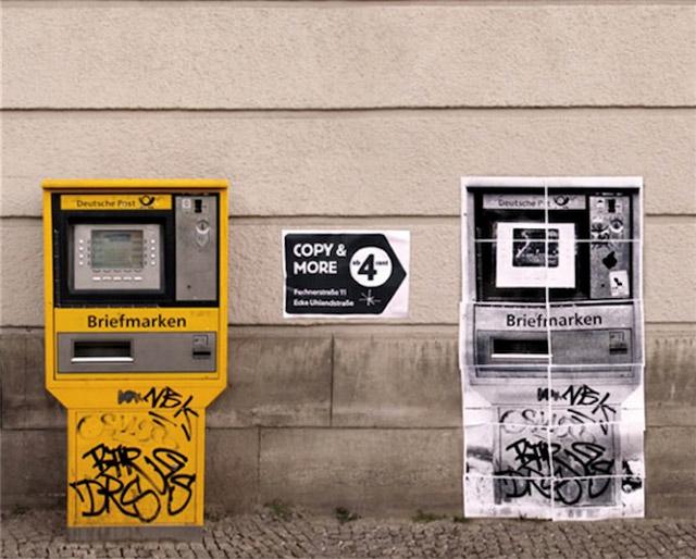 kopiertes Guerilla Marketing - kopiertes Guerilla Marketing copyandmore_guerillaaktion_04