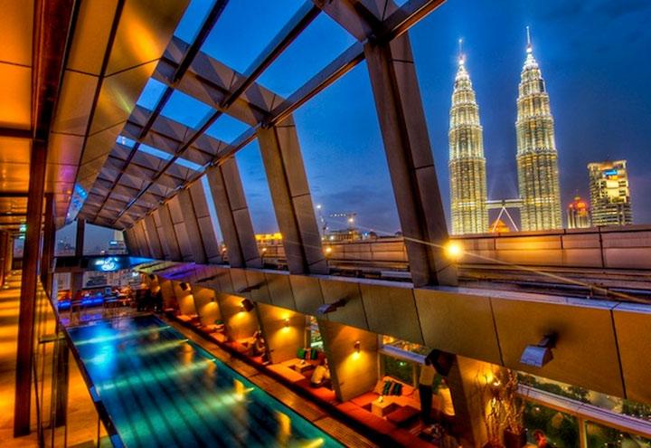 Stylischste Dach Pool-Anlagen der Welt dopest_roof_pools_10