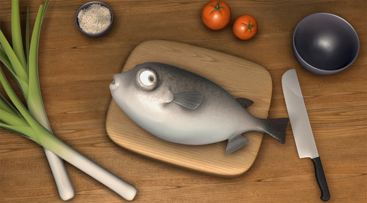 Animated Short: Fugu fugu