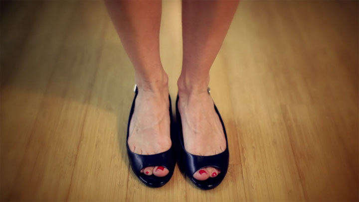Kreativ: Her Shoes