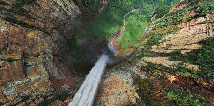 Interaktiv: 360°-Panorama der Angel Falls interactive_angel_falls_01