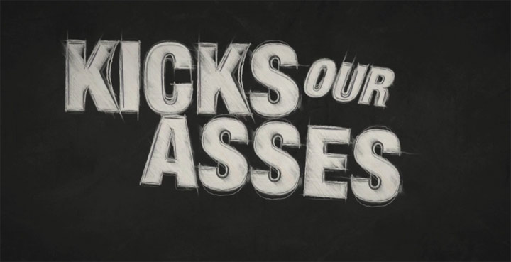 Kinetic Typo Animation: Kick Ass kickass_kinetic_typo