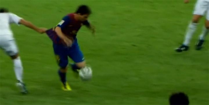 Die unendlichen Versuche, Messi zu Fall zu bringen lionelmessifall
