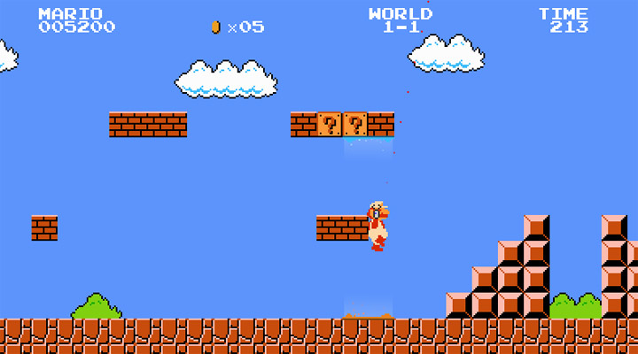 Mashup-Game: Super Mario Portal mari0