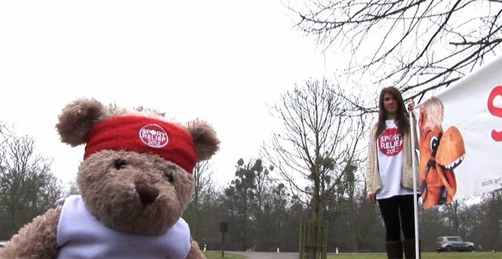 Misery Bear wird sportlich
