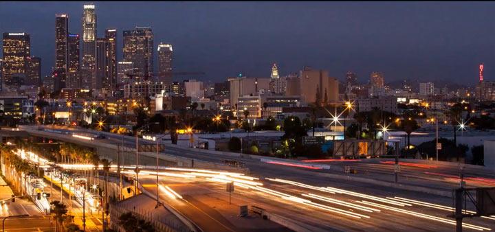 Timelapse: Lichter der Stadt