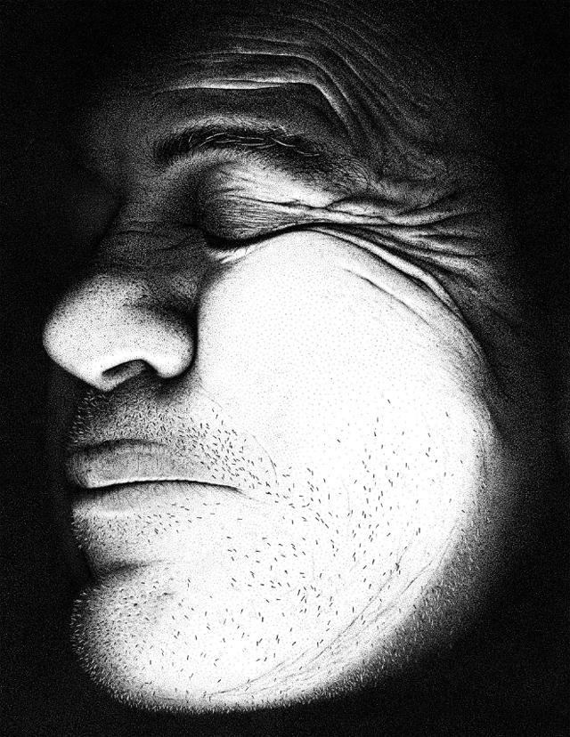 Portrait aus 3,2 Mio. Punkten 3point2mildotportrait