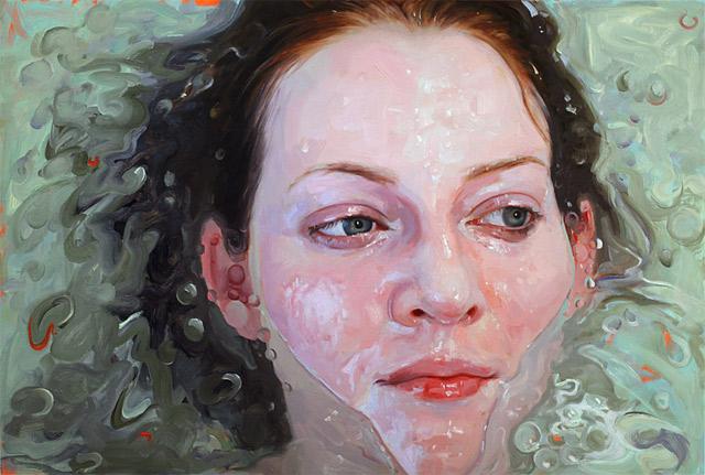 hyperrealistische Dusch-Gemälde Alyssa_Monks_03