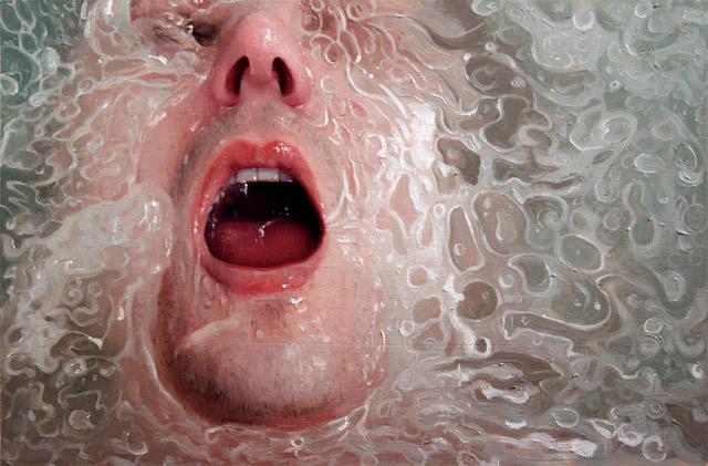 hyperrealistische Dusch-Gemälde Alyssa_Monks_09