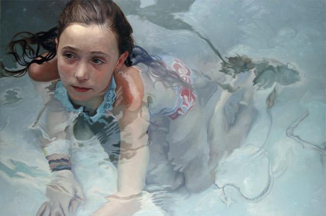 hyperrealistische Dusch-Gemälde Alyssa_Monks_10