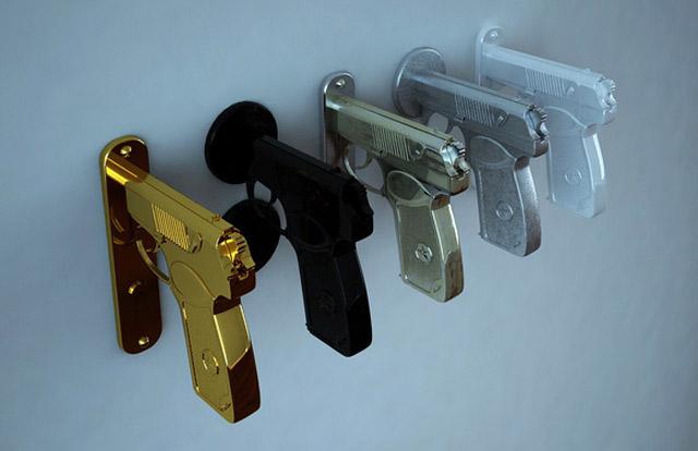 Für diese Tür brauchst du einen Waffenschein BangBangHandle_02
