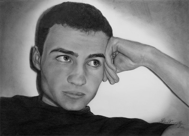 Zeichnungen: Julija Zelezova Julija_Zelezova_07