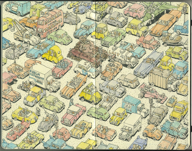 Notizbuch-Illustration: Mattias Adolfsson Mattias_Adolfsson_01