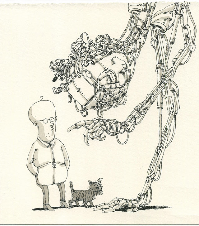 Notizbuch-Illustration: Mattias Adolfsson Mattias_Adolfsson_03