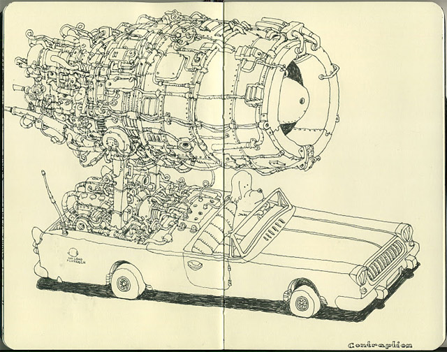Notizbuch-Illustration: Mattias Adolfsson Mattias_Adolfsson_08