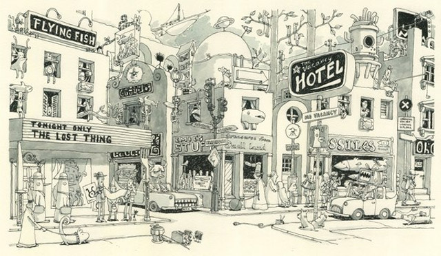 Notizbuch-Illustration: Mattias Adolfsson Mattias_Adolfsson_15