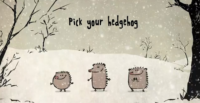 Singing Christmas Hedgehogs Singende_Igel