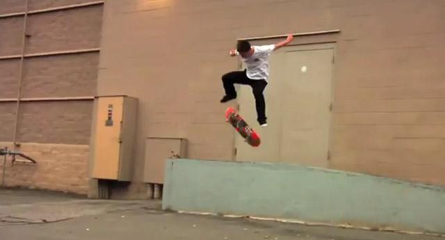 Skateboard-Trickserei: Digi-Montage Trasher_Digimontage
