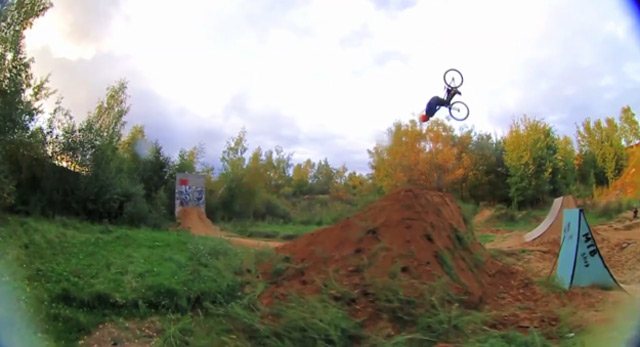 Pavel Vishneviy Alekhin BMX Tricks 2011