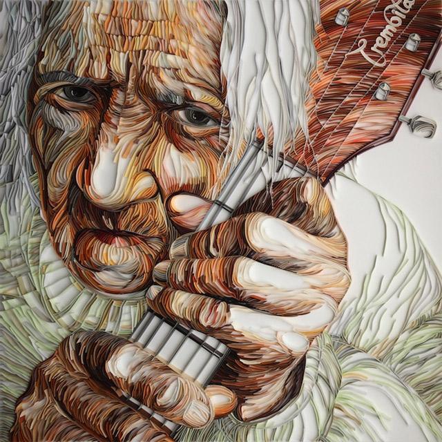 Paper Grandma by Yulia Brodskaya Yulia_Brodskaya_01