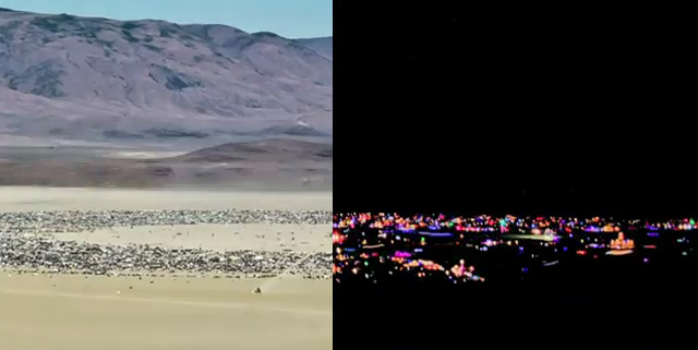 Timelapse: Burning Man Festival 2011