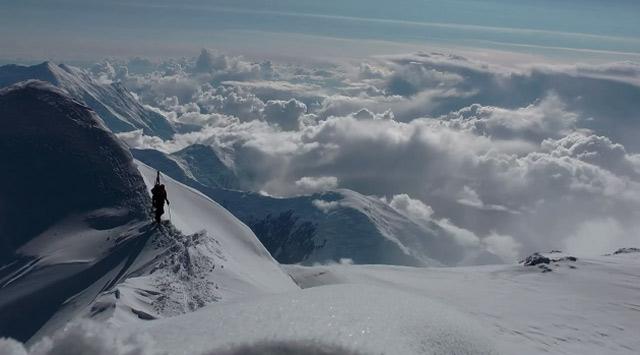 Bergstieg und Skiabfahrt: The Denali Experiment denali_experiment