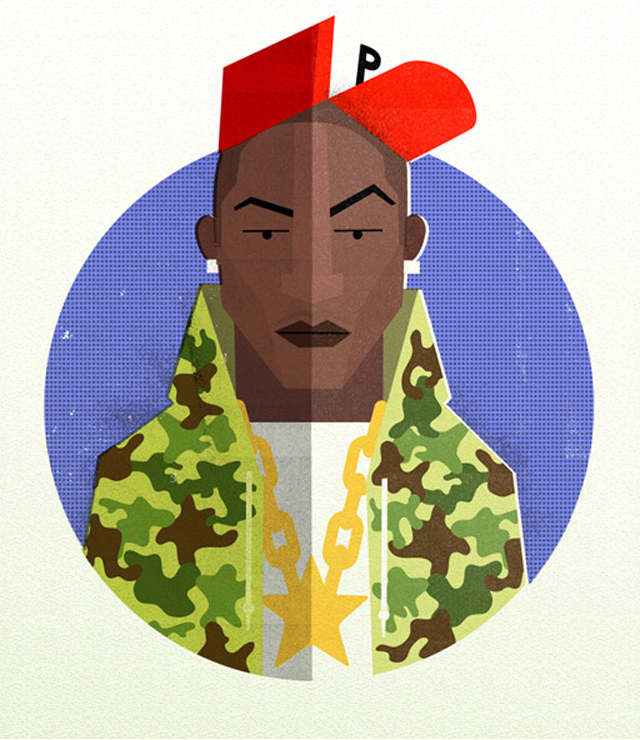 Illustration: Hip Hop Heads hiphopheads_01
