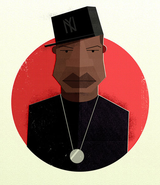 Illustration: Hip Hop Heads hiphopheads_07